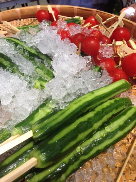野菜でカラダを冷やす
