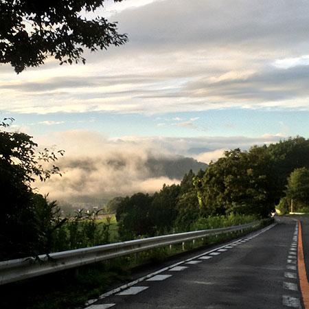 Good MOORNING!!  HIBARA.... 朝の霧