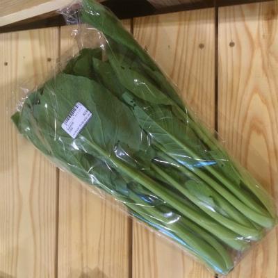 がっちり味のっている小松菜。ちょっとお得になります。