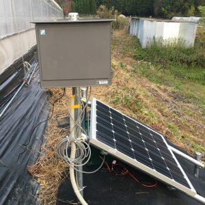 灌水制御装置と電源